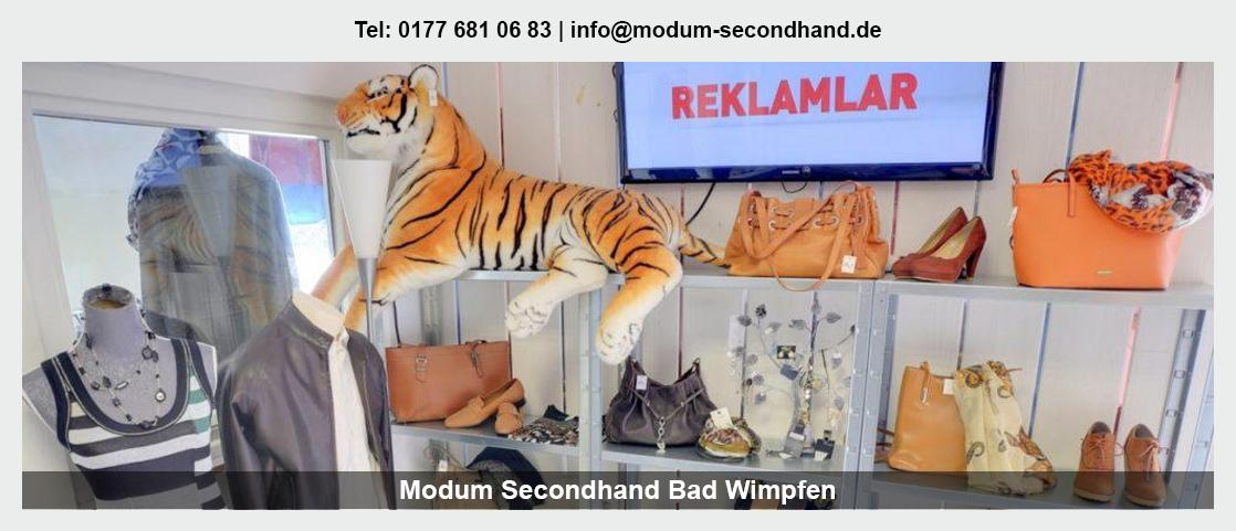 Second Hand Shop in Kirchardt - Modum Secondhand: Babybekleidung, Sportartikel