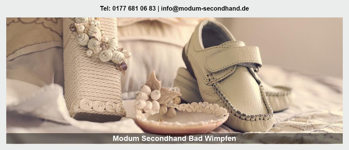Second Hand Shop in Widdern - Modum Secondhand: Babybekleidung, Herrenbekleidung