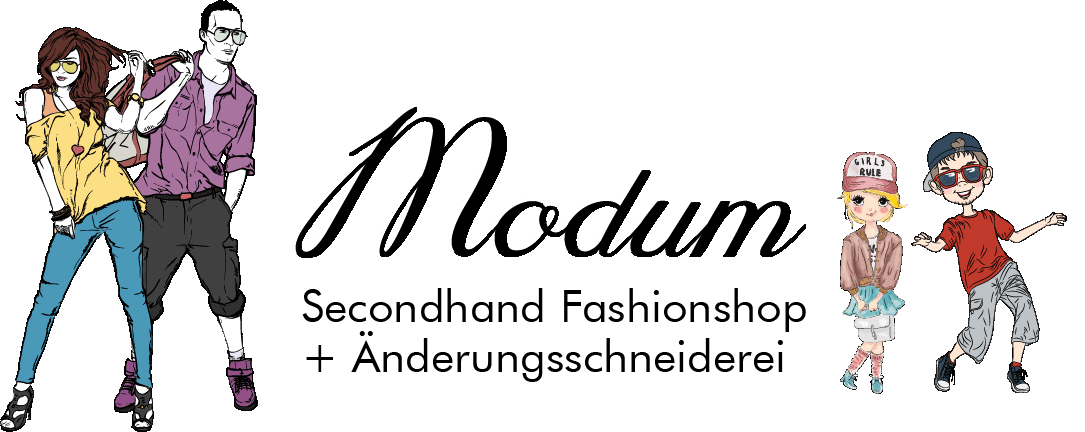 Modum Second Hand Shop Logo